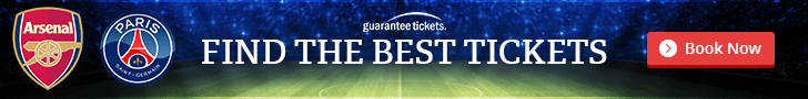 Click to get Arsenal Tickets