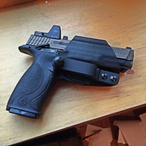 Smith & Wesson M&P9 in PHLster Skeleton