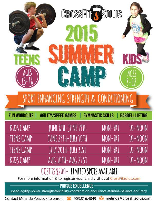 2015 Kids _ Teen Camps