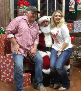 Santa at Preston Trails Farm