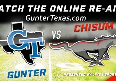 Gunter vs Chisum Broadcast