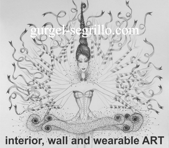 Original drawings made by Brazil-born, Cork City based artist P Gurgel-Segrillo: figurative explorations on cross-cultural identity and womanhood, empowerment and femininity. Signed pencil on paper large format originals.