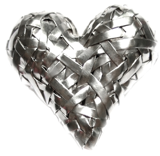 heart jewellery handcrafted, by gurgel-segrillo