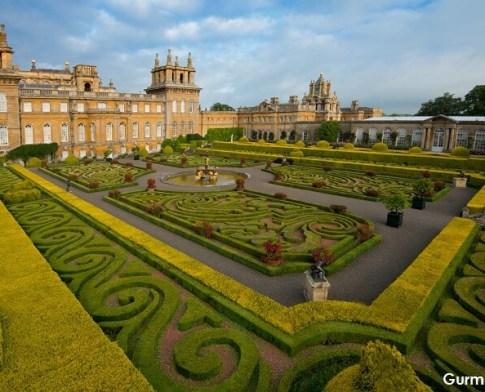 Blenheim Sarayı Yemek Festivali İngiltere
