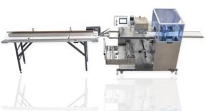 GM 100FSU - ters yapıştırma sistemli gezer çene yatay paketleme makinası