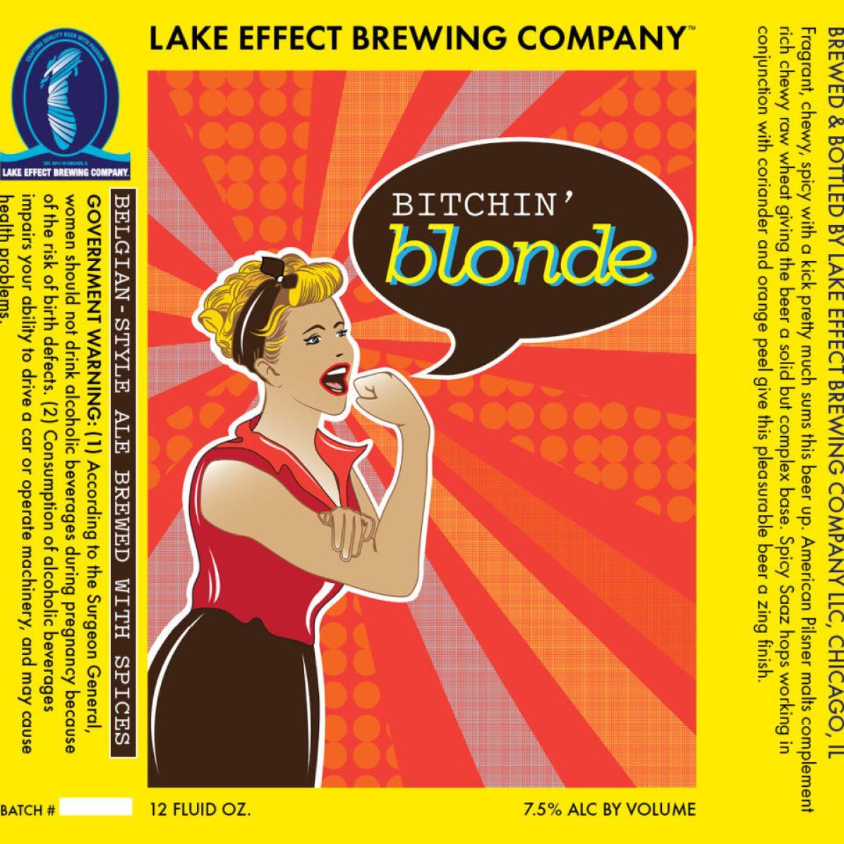 Lake Effect Bitchin' Blonde (12 oz)
