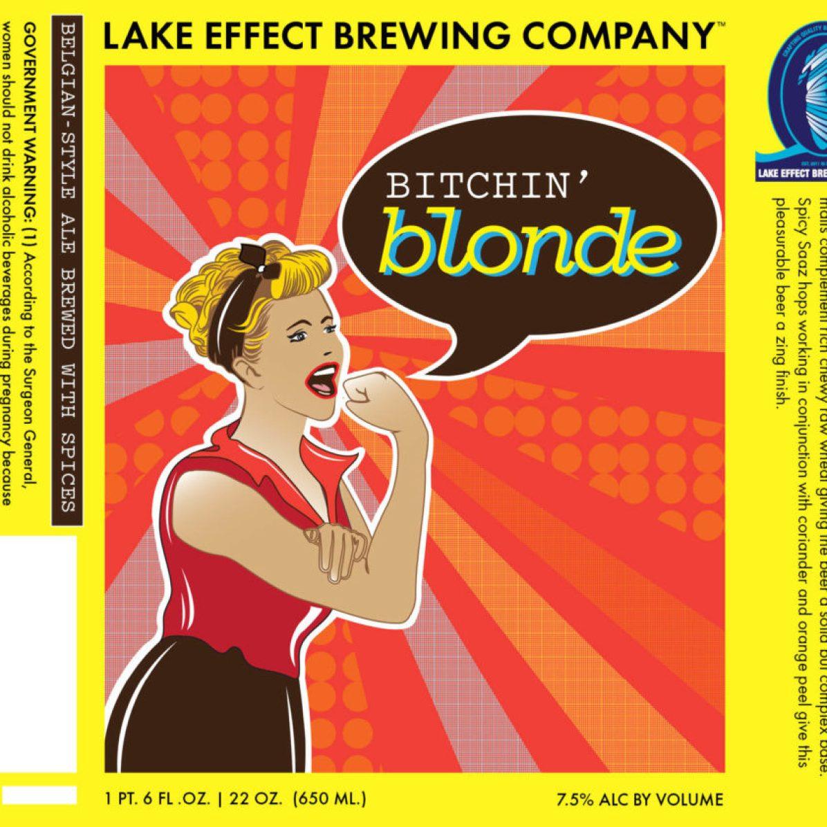 Lake Effect Bitchin' Blonde (22 oz)