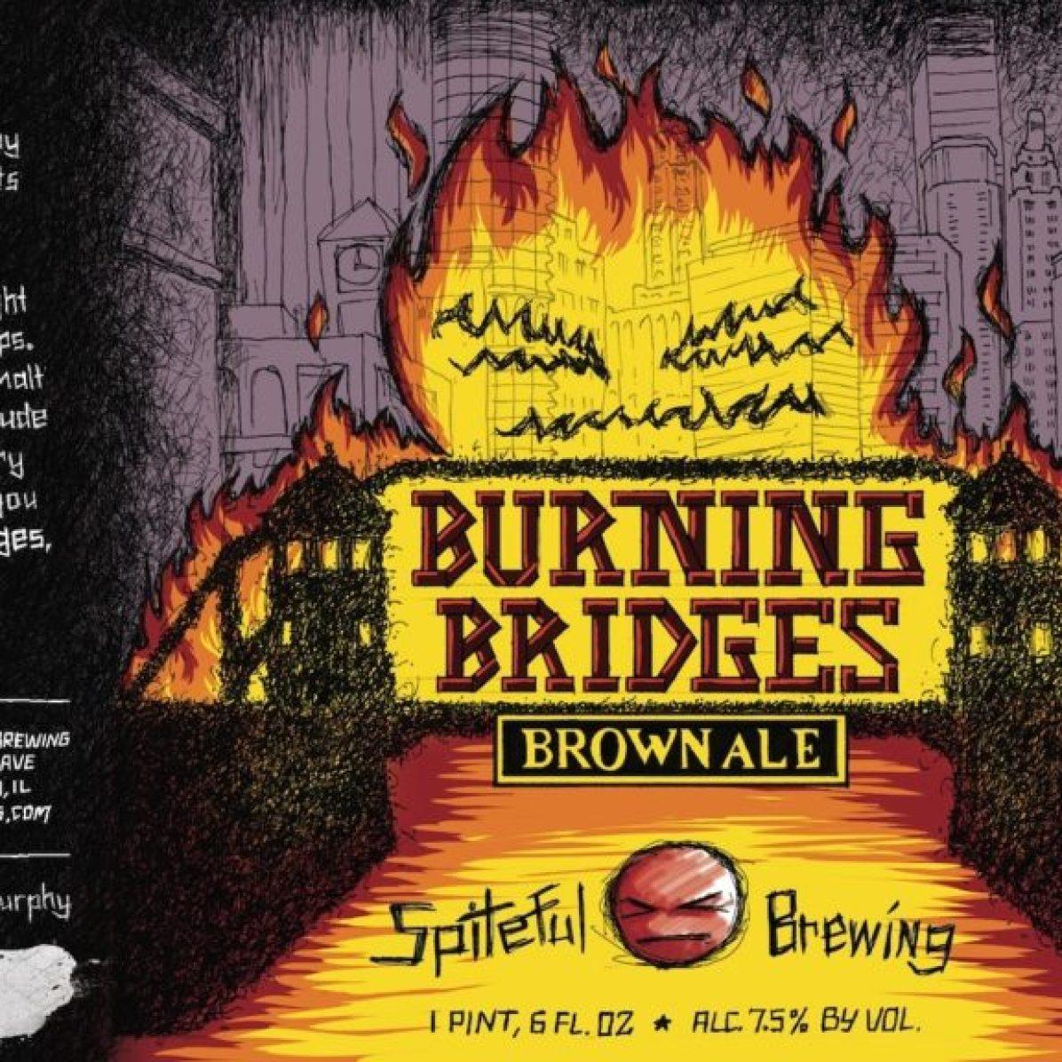 Spiteful Burning Bridges Brown Ale