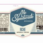 2/19 - Ale Syndicate Richie Imperial Porter