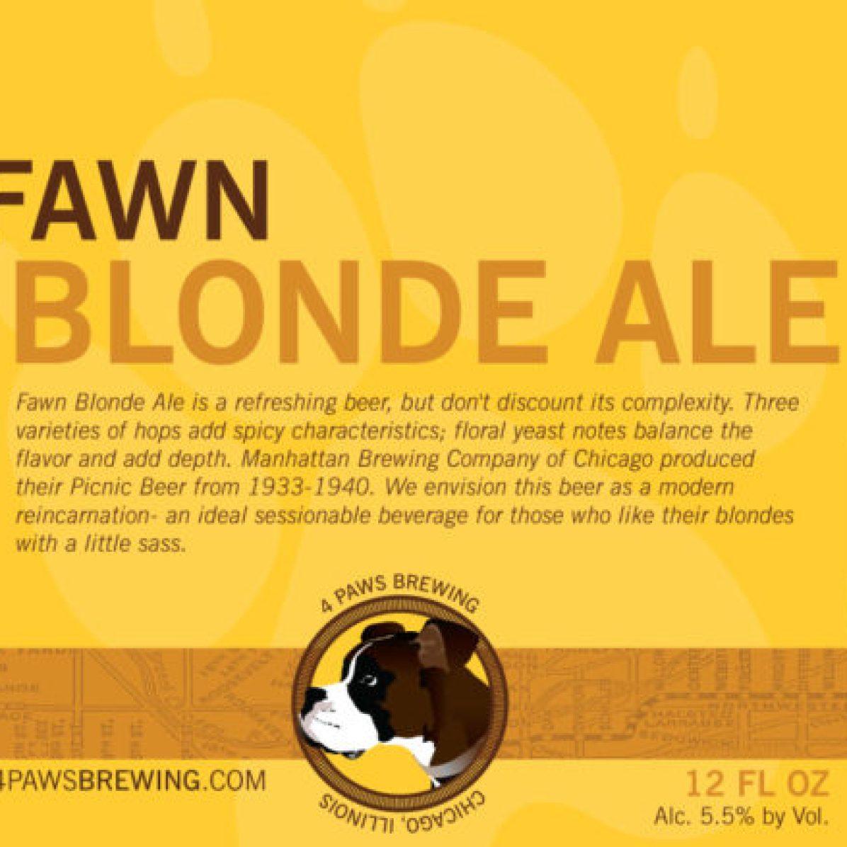 4 Paws Fawn (12oz)