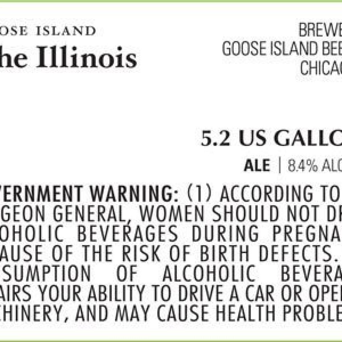 Goose Island The Illinois