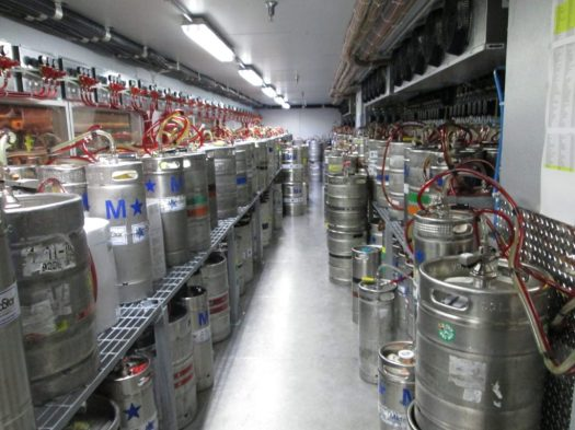 That's a lot of kegs.