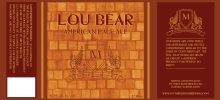 5/13 - My Three Sons Brewing Lou Bear