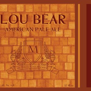 My Three Sons Brewing Lou Bear
