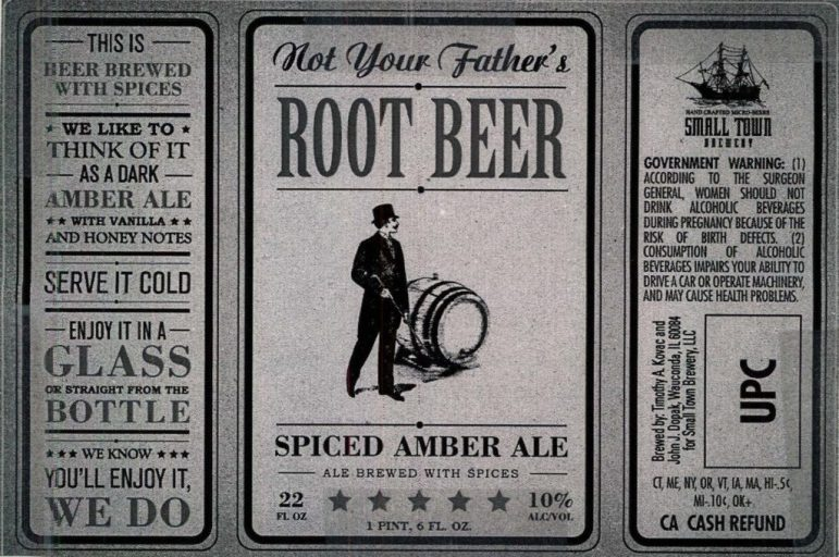 Small Town Brewery Not Your Father's Root Beer