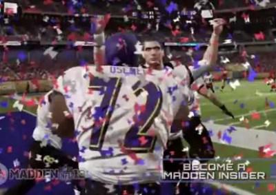 madden, superbowl prediction, ravens
