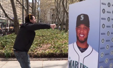 Yankees fans boo picture of Robinson Cano. Then he shows up.