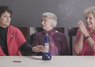 Grandmas Smoking Weed First Time