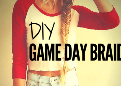 DIY GAME DAY BRAID