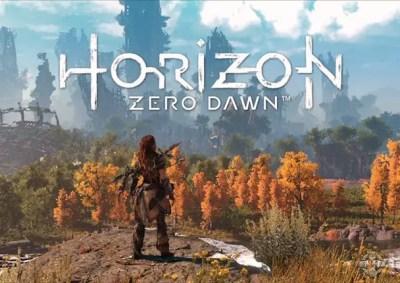 horizon zero dawn trailer