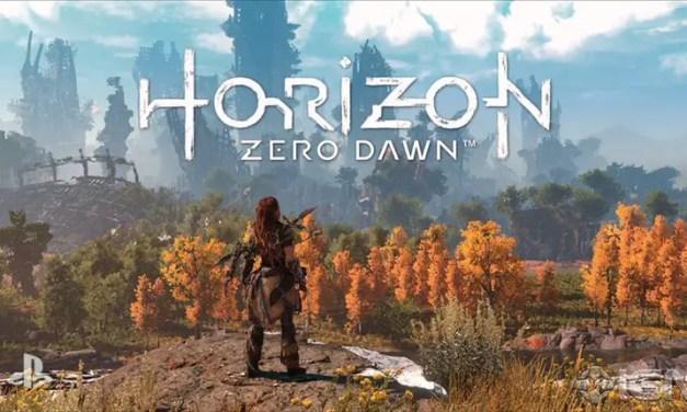 Horizon Zero Dawn looks like Tauriel meets Gears of War