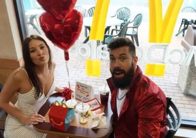 Andrew Sendejo cheap Valentine Date