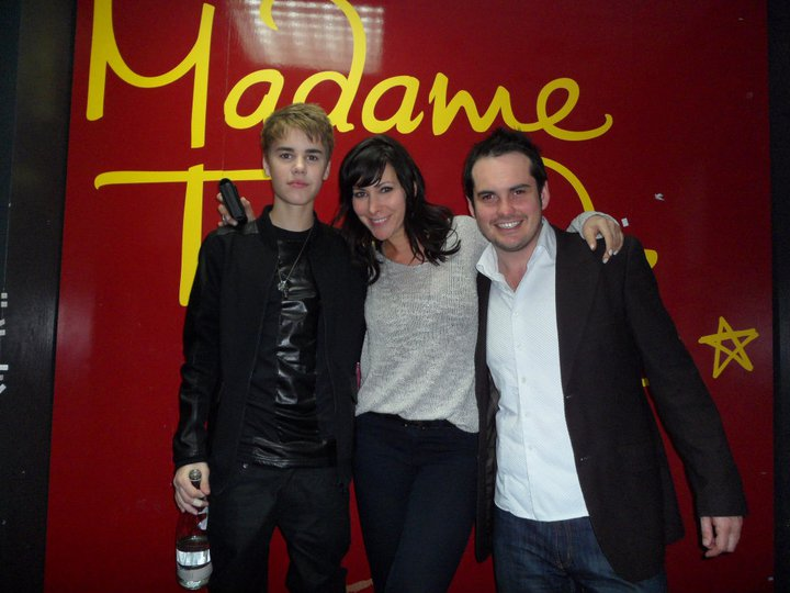 Kieran Lancini meets a young Justin Bieber!
