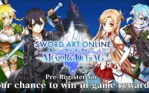 Sword Art Online: Memory Defrag buka Tahap Pra-Registrasi!