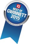Voted Best of Gwinnett 2015!