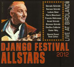 CD cover, Django AllStars