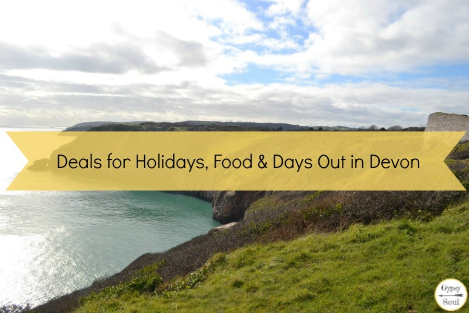 Deals for Holidays, Food and Days Out in Devon. Click here to find out more!
