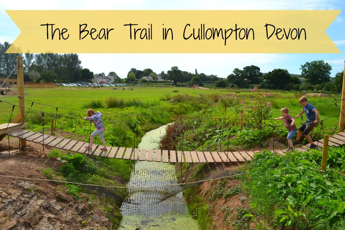The Bear Trail in Cullompton Devon