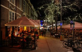 Grote Markt Den Haag avond