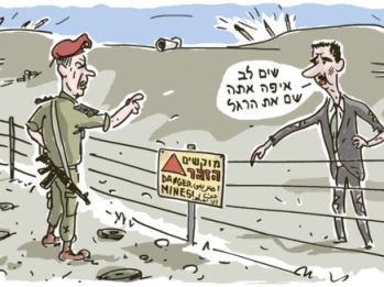 assad cartoon
