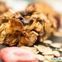 Gesunde Hafercookies mit zwei Zutaten