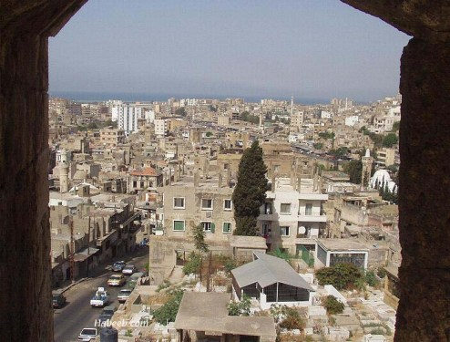 Tripoli, Lebanon as seen from the Citadel