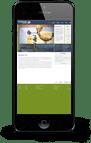 Hochbrunner Responsive website iPhone haberer media
