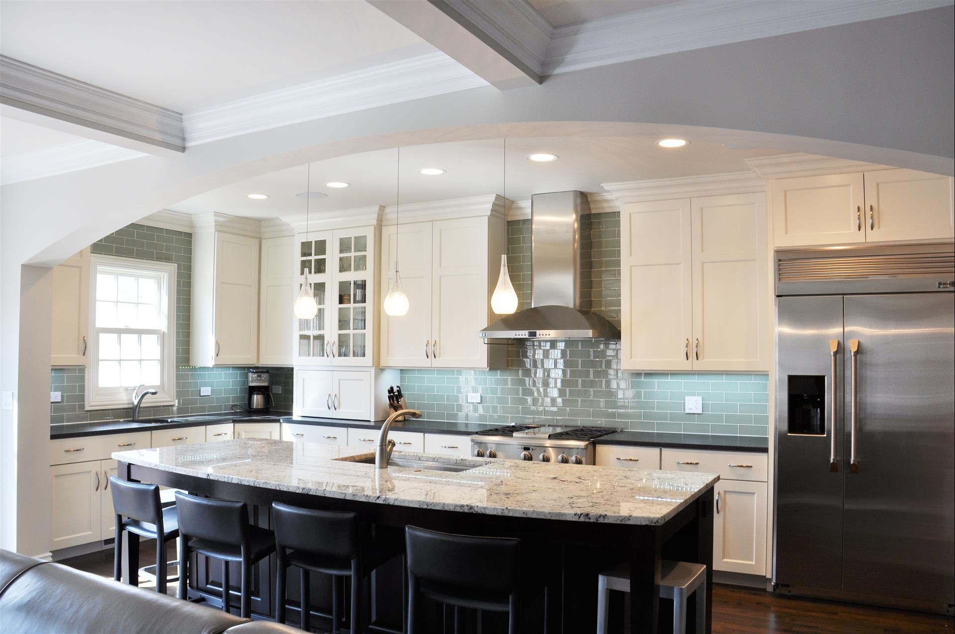 services fireplace kitchen remodeling chicago Custom Cabinets and Built ins