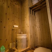 Toilette compost tiny house