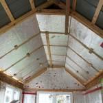 Isolation du toit