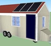 Tiny house modèle 3D