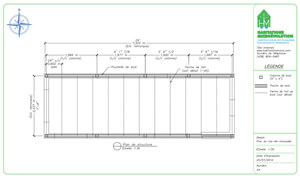 Plan de construction micromaison 3