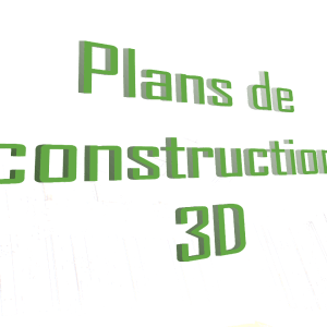 plans de construction 3D tiny house