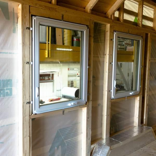 Fenêtres vue de l'intérieur