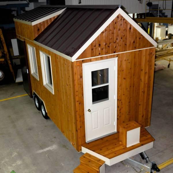 Tiny house construite en usine