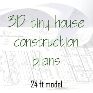 3D tiny house construction plan