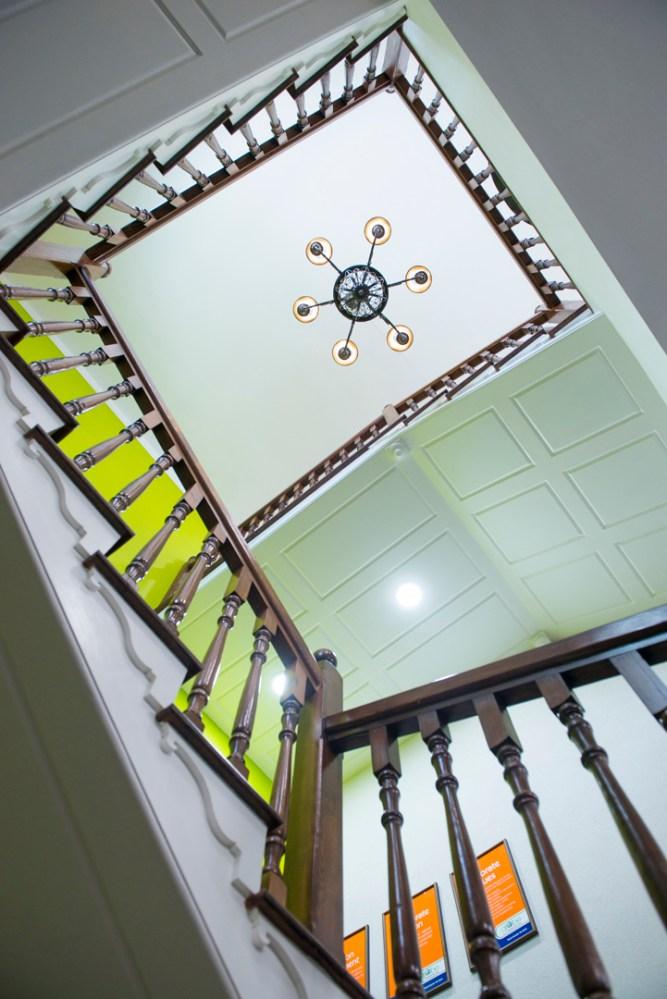 9Stair Detail Upward Shot