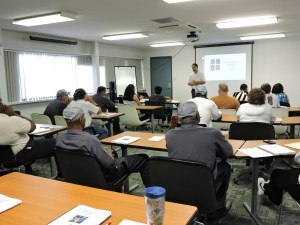 Site Managers,  maintenance workers & sub-contractors attend Housing Quality Standards Training.
