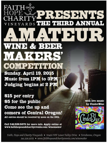 Amateur wine & beer makers competition