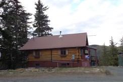Log Home on the Chilkat Peninsula